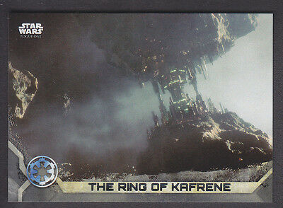 Topps Star Wars - Rogue One Series 2 - # 6 Gray Squad Parallel 65/100