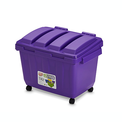 Ezy Storage 80L Purple Kids Dumpster