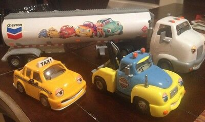 Lot Of Chevron Collector Cars