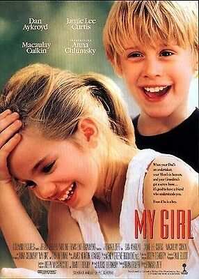 """MY GIRL - 27""""x40"""" Original Movie Poster One Sheet ROLLED 1991 Anna Chlumpsky"""