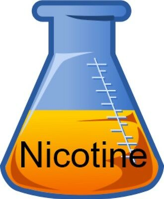 72mg 7.2% Organic Nicotine Base USP Grade in PG or VG