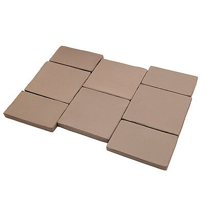 Taupe 8pc Rattan Garden Furniture Replacement Cushion Pads Waterproof Outdoor