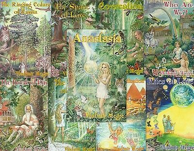 Anastasia The Ringing Cedars of Russia Vladimir Megre All 9 Books PDF CD Disc