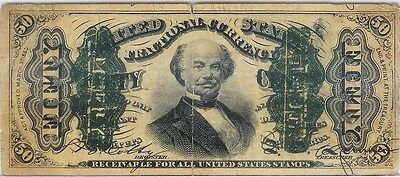 50 Fifty Cents Third Issue Fractional Currency Note