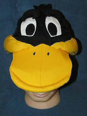 Vintage Daffy Duck 3 Dimensional Character Cap Hat Arby's Looney Tunes 1989 L@@k