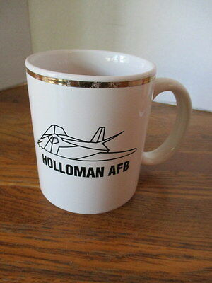 "Collectible Coffee Mug,""holloman Afb"", New Mexico, Home Of The Stealth Bomber"