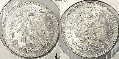 MEXICO: 1926-M Peso #WC64481