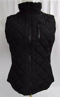 *NWT* Andrew Marc Women's Full Zip Quilted Vest (Black) Free Shipping!!