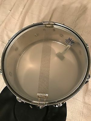 "Vintage Premier Olympic 14"" Snare Drum w/ CASE MADE IN ENGLAND Pro-Mark Sticks"