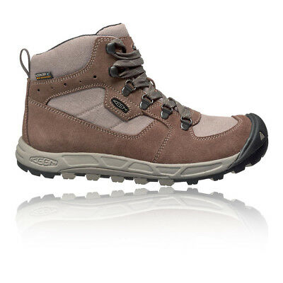 Keen Westward Mid Womens Brown Waterproof Walking Trekking Boots Shoes