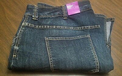 Lane Bryant Plus Size 28 Jean Skirt Distressed Style. New w/Tag