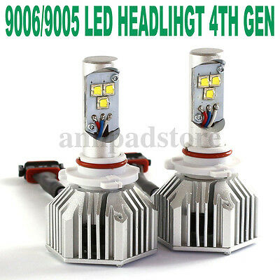 80W 8000LM High Power LED 9005 9006 Headlight High Low Beam Bulbs 6000K White