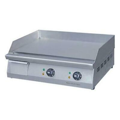 Electric Griddle / Hotplate with Double Control, 610mm Wide, ElectMax Commercial