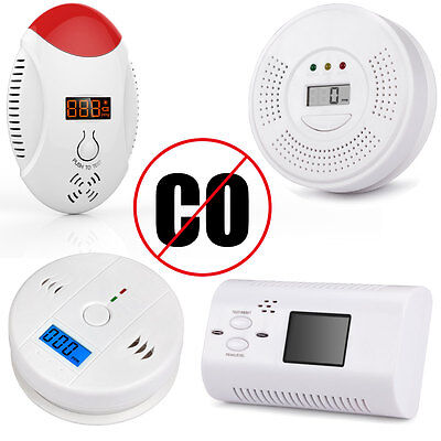 Full Series LCD CO Carbon Monoxide Detector Poisoning Gas Warning Sensor Monitor