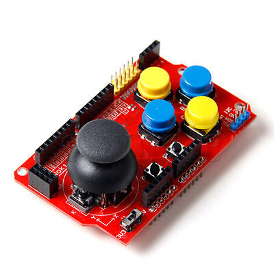 Gamepads Joystick Shield for Arduino Simulated Keyboard And Mouse K6