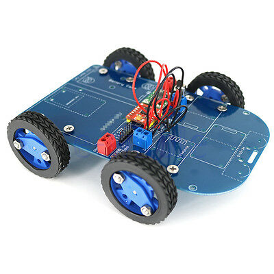 N20 Gear Motor Toy 4WD Bluetooth Controlled Smart Robot Car Kits for Arduino K6