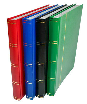 Large A4 Stockbook - Stamp Album for Stamps 32 Black Pages - £10.95