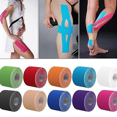 5m Rock Kinesiology Tape Athletic Muscle Support Sport Rocktape Physio Strapping