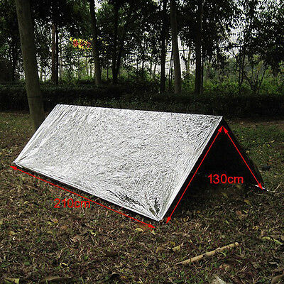 Portable Outdoor Emergency Survival Thermal First Aid Rescue Blanket Waterproof