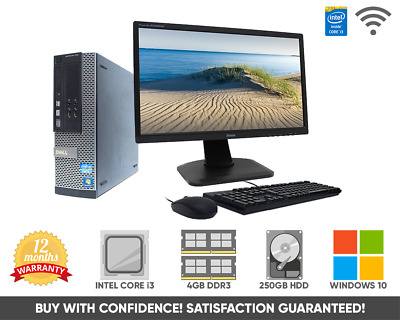 "Cheap Dell Full Computer System with 19"" Monitor 
