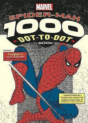 Marvel's Spider-Man 1000 Dot-to-Dot Book: Twenty Comic Characters to Complete Yo
