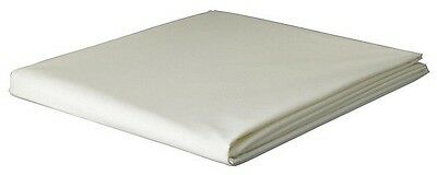 NEW Tesco Brushed Cotton Double Fitted Sheet - White