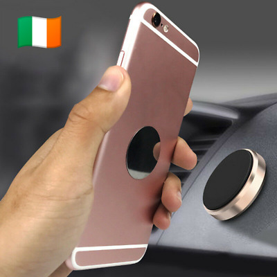 Car phone holder magnetic mount mobile universal stand grip iphone samsung. 0142