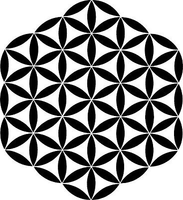"""Flower Of Life durable  190mm Mylar 6"""", 8"""", 12"""" Stencil *NEW*"""