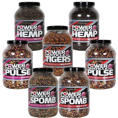 Mainline NEW Carp Fishing Power Plus Particles Hemp Cell Tigers *All Types*