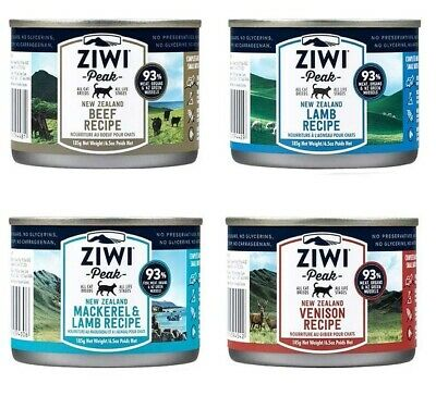 Ziwi Peak Daily Cat Cuisine Cans 185g wet food real meat