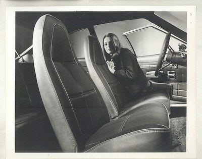 1973 AMC Gremlin with Levi's Interior ORIGINAL Photograph & Press Release ww7742
