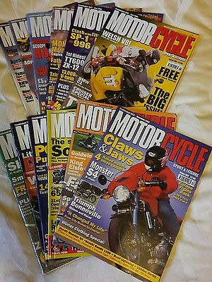 Motorcycle Sport & Leisure magazine collection 1996-2002
