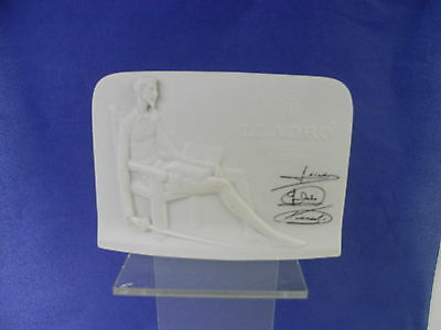 Lladro Spanish Porcelain Collectors Society Plaque