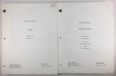 (2) Star Trek Scripts ARENA and ASSIGNMENT: EARTH