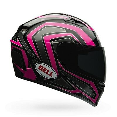 Bell Powersports Qualifier Machine Full Faced Helmet XS Black/Pink