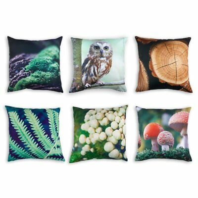 Forest Cushions Covers x6