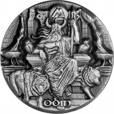 2016, 3 oz. ODIN, Legends of Asgard .999 Silver Coin (Sale!!)