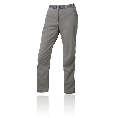 Montane Terra Pack Womens Grey Water Resistant Trekking Outdoors Long Pants