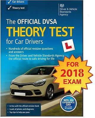2017 Official DVSA Theory Test for Car Drivers Book UK Latest Edition. 'CrThryBk