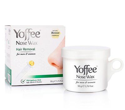 Yoffee Nose Wax Nasal Hair Removal with Natural Beeswax Formula Safe Quick