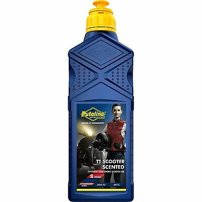 Putoline TT Scooter Scented 2 Stroke Engine Oil With Strawberry Essence 1 Litre