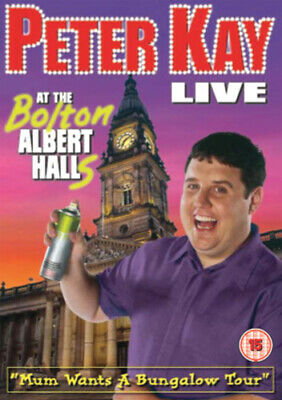 Peter Kay: Live at the Bolton Albert DVD (2003) Peter Kay cert 15 Amazing Value