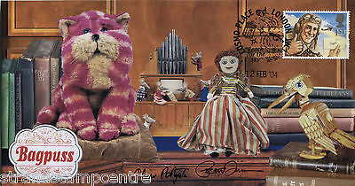 2004 BAGPUSS - Steven Scott cover - Signed By OLIVER POSTGATE & PETER FIRMIN