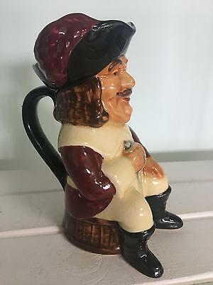 Shorter and Sons Toby Jug - CAVALIER M/S - Superb Vintage Hand Painted
