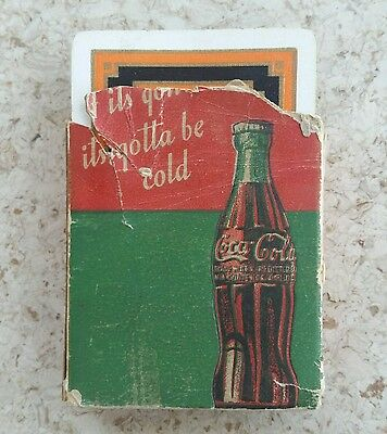 RARE Coca-Cola Advertising Playing Cards - Westinghouse Electric Coolers!!