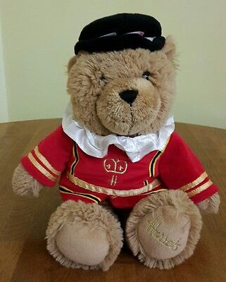 "Harrods 12"" plush Beefeater bear"