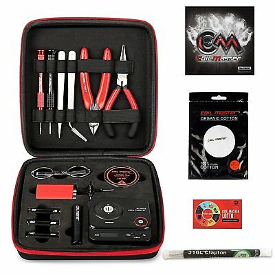 Coil Master DIY V3 Tool Kit (newest version) 2018 New Release - USA Seller