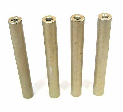 """Aluminum No Threads Spacers/Standoffs, #4 x2"""" Long: 4/Lot: HH Smith 8491"""