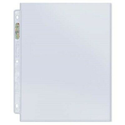 10 Ultra Pro 8 12 X 11 Magazine Album Pages 1 Pocket Sheets Fits