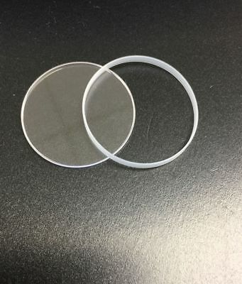 Sapphire Crystal For Rolex Daytona W/ Etched Laser Crown 116505, 116520 ,116528